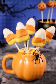 Halloween Candy Corn Pumpkin
